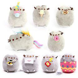 Stuffed & Plush Animals pusheen cotton pusheen cat kawaii Pusheen cat dolls plush toys Biscuits cat pusheen plush
