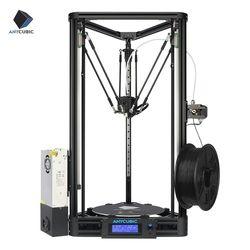 ANYCUBIC 3D Drucker Pulley oder Linear Plus Halb von Montiert mit Auto Nivellierung Große 3D Druck Größe Impressora 3D DIY kit