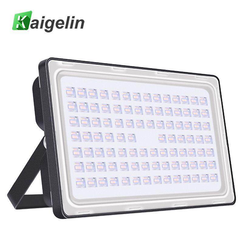 2 Pieces 250W 220-240V LED Flood Light 384 LED 30000LM Floodlights Waterproof Spotlight Outdoor LED Projector Street Light