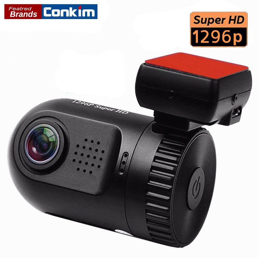 Conkim Car DVR Ambarella A7LA50 Mini 0805 Full HD 2304*1296P 30fps Auto Car Dash Camera LDWS HDR G-sensor Digital Video Recorder