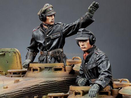 1:35 commandant allemand SS de la seconde guerre mondiale Tucker