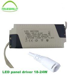 Conductor del LED para panel Luces bajas corriente constante 3 W 4-7 W 8-12 W 15-18 w 18-24 W adaptador transformerpower suministro