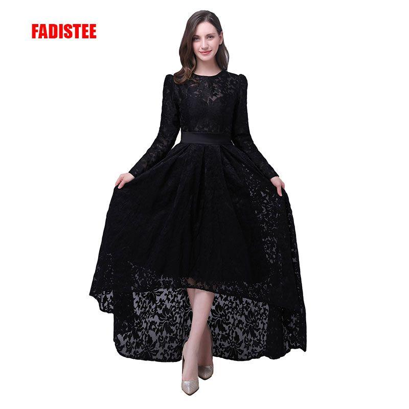 FADISTEE Elegante prom party Kleider Spitze Robe De Mariage high-low stil kleider Vestido de Noiva Casamento volle hülsen