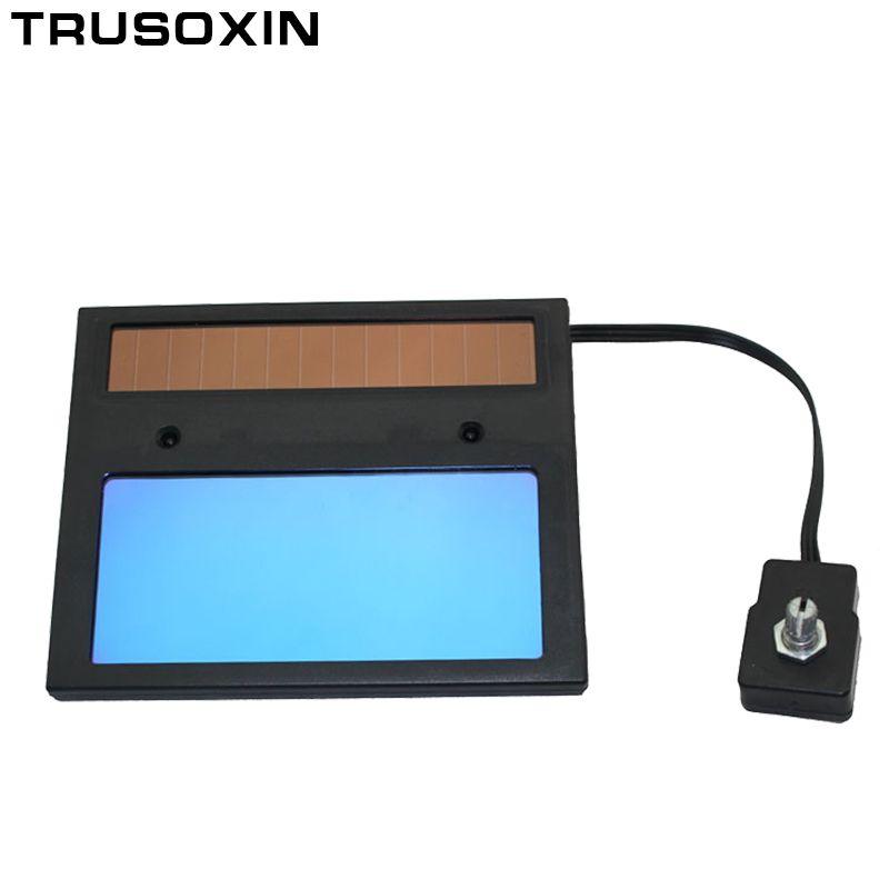 Masque de soudage auto-assombrissant solaire/casque/capuchon de soudeur/lentille de soudage/filtre pour masque oculaire/lentille pour machine à souder et outil de découpe plasma