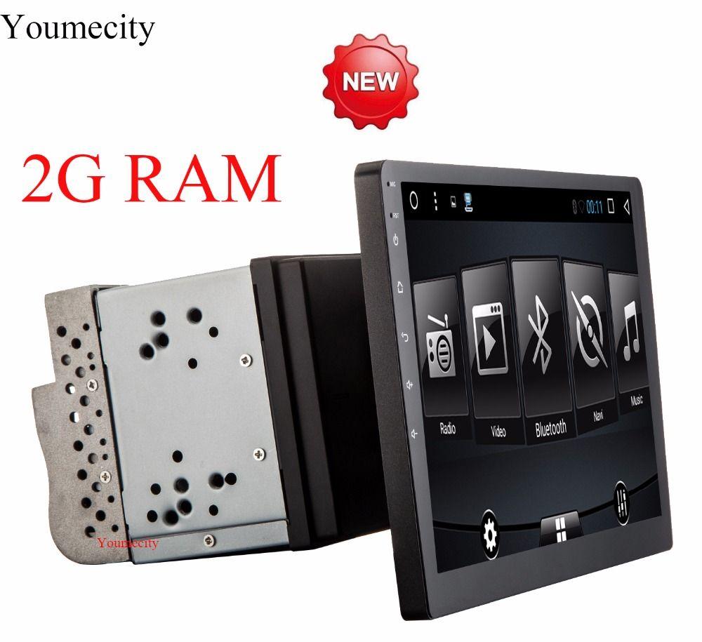 Youmecity 10 zoll bildschirm Octa core 2 din android 7.1 universal auto Radio DVD GPS Navigation In dash PC Stereo video wifi