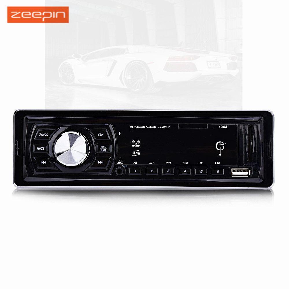 1044 Car Radio Stereo Audio MP3 Player DC12V LED Display FM Receiver Remote Control 4 x 50W Support SD USB AUX Audioradio