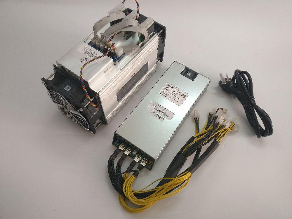 Verwendet Die Asic Bitcoin BTC Miner WhatsMiner M3 9,5 t-10,5 t 0,18 kw/TH Besser Als Antminer v9 S7 D3 L3 +, wirtschaft Miner