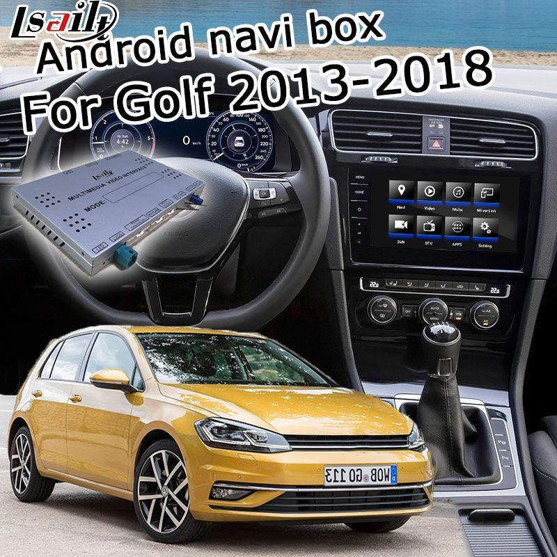 Android GPS navigation box für Volkswagen Golf mk7 android video interface box mit spiegel link youtube carplay durch Lsailt