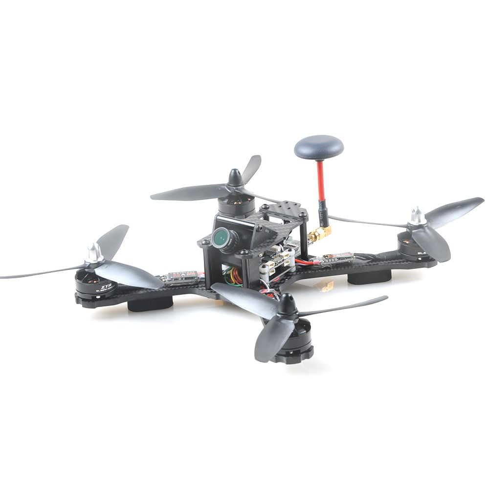 214MM Carbon Fiber QAV-X FPV Racing Drone Quadcopter RTF Kit with SP Racing F3 Deluxe FS-I6 Transmitter IA6B Receiver