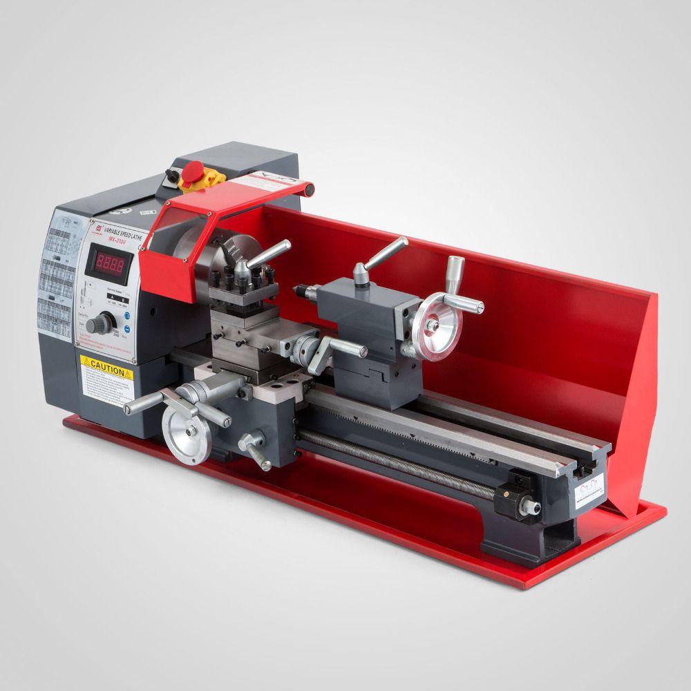 CFR 750 W 8 X 16 210 Verarbeitung Mini Metall Drehmaschine Variable Geschwindigkeit Drehmaschine Metall Drehmaschine