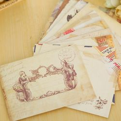 12 pcs/lot vintage mini enveloppe de papier scrapbooking enveloppes petit enveloppes kawaii papeterie cadeau
