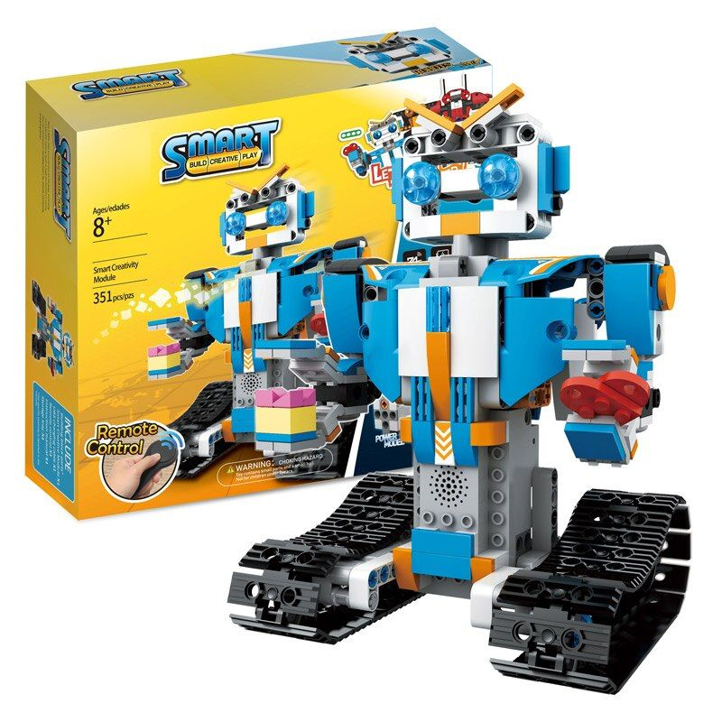 Technic RC Remote Control Intelligent Robot LegoINGLYs Robot BOOST Creative Technic Toolbox Assemble Blocks Bricks Toys For Boys
