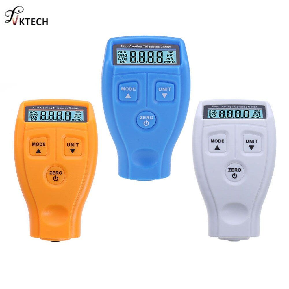 GM200 Coating Painting Thickness Gauge Tester Ultrasonic Mini Varnish Film Coating for Car Paint Thickness <font><b>Meter</b></font> English Russian