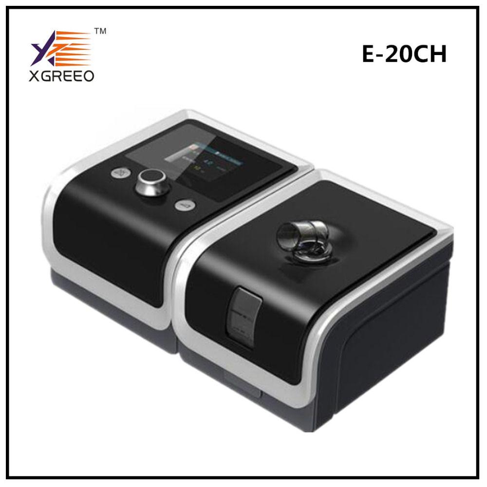 BMC XGREEO GII CPAP Maschine E-20CH Atemschutzmaske für Schlafapnoe OSAHS OSAS Schnarchen Menschen W/Freies Nasenmaske Kopfbedeckungen Rohr tasche