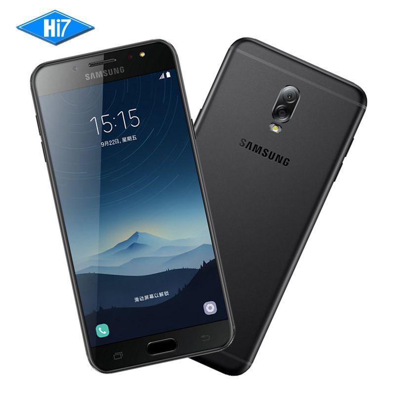 New Original Samsung Galaxy C8 SM-C7100 3G RAM 32G ROM 16MP Front Camera dual sim Octa Core Android 7.1 Lte 4G Mobile Phone