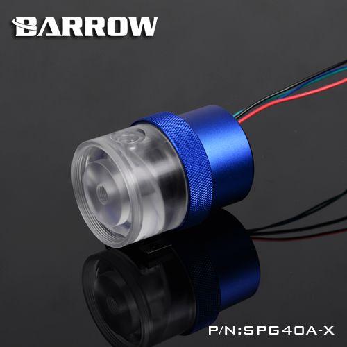 Brouette SPG40A-X, pompes 18 W PWM, débit maximal 1260L/H, Compatible avec les noyaux et composants de pompe de la série D5