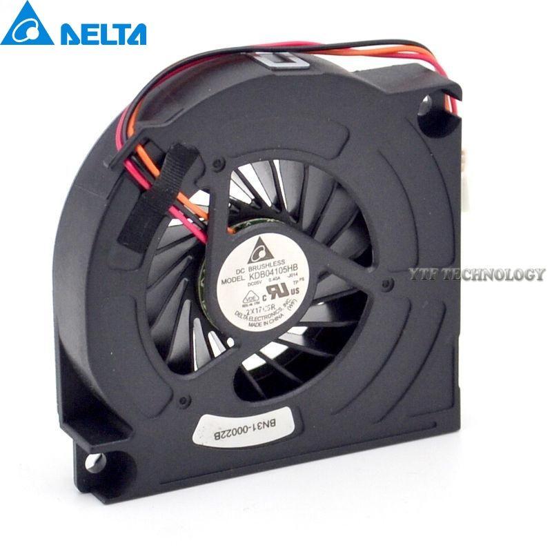 Nouveau et Original 6012 5 V 0.40A 6 CM mince ventilateur KDB04105HB approprié pour conversion pour Delta 60*60*12mm