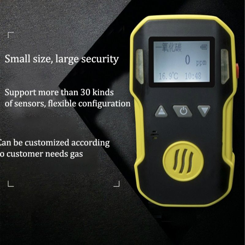 Gas Leak Detector NO Nitric oxide Gas Monitor with Alarm System Gas Detector Professional NO Air Gas Analyzer Sensor