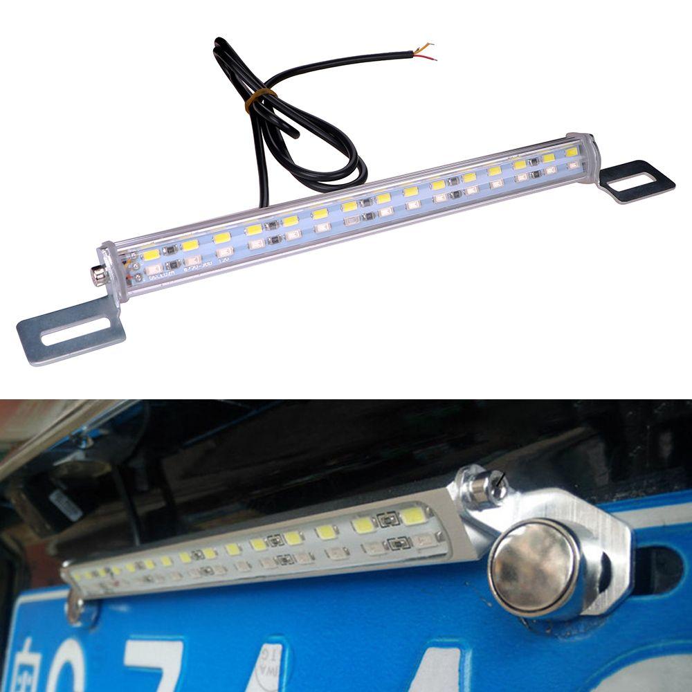 Itimo 30 led plaque d'immatriculation lampe de voiture parking feux de recul Auto Arrière de Freinage Lampe De Voiture-style LED Queue Lumière Bar 7.5 W 12 V