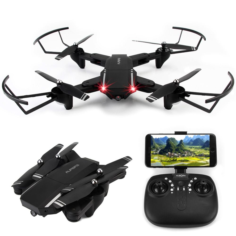 Q39 RC <font><b>Helicopter</b></font> Drone Professional Foldable Quadcopter with Camera WIFI FPV Drone G-Sensor VS Eachine E58 JJRC H31 Kids Toys