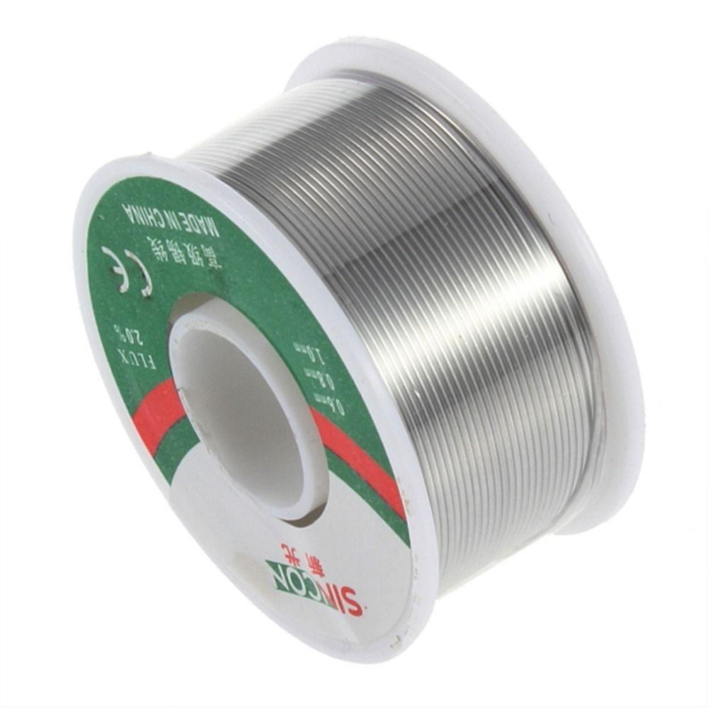 Marke Neue 63/37 Zinn 0,8mm Kolophonium Zinn/Blei 0,8mm Kolophonium Rolle Fluss Lötdraht Reel Heißer verkauf Hohe Qualität