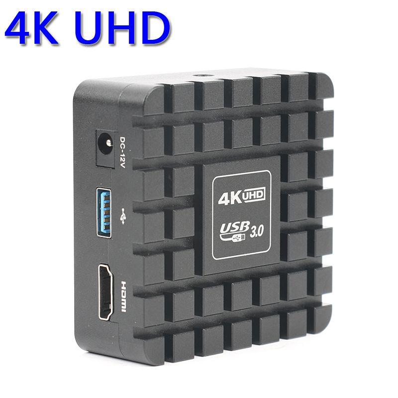 1080P 12MP 4K UHD HDMI 3840*2160 Industrial Digital C mount Video Microscope Camera TF Video Image Storage Measurement Function