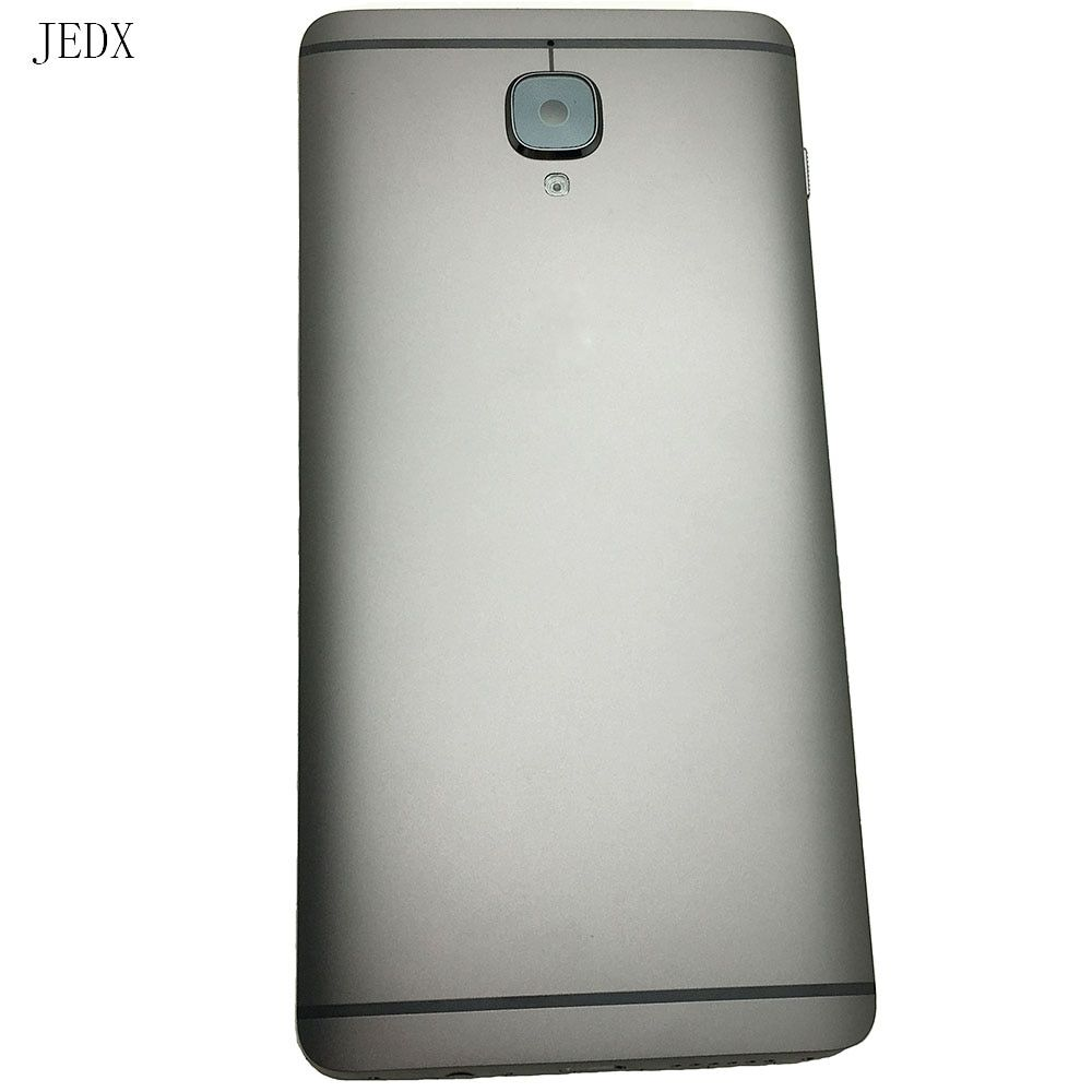 JEDX Original For Oneplus 3 3T A3000 A3003 Back Battery Cover Door Housing Case With Camera Lens +Vibration Motor Sim Card