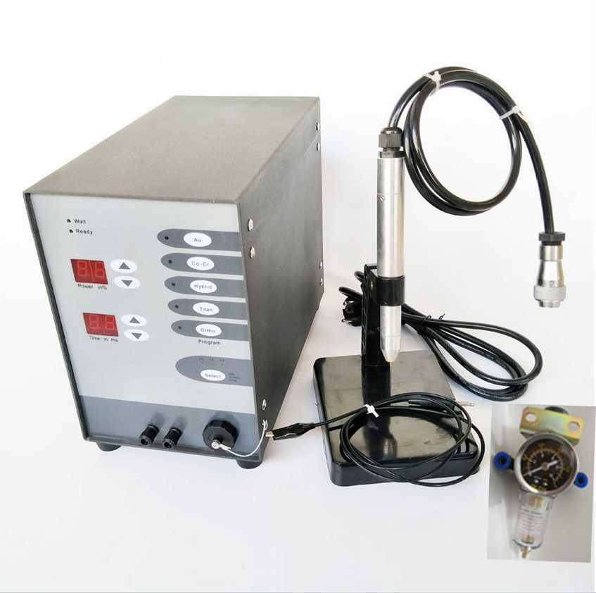 Dental Spot Welding Machine Automatic Numerical Control Touch Pulse Argon Arc Welder for Soldering Jewelry tools and equipment