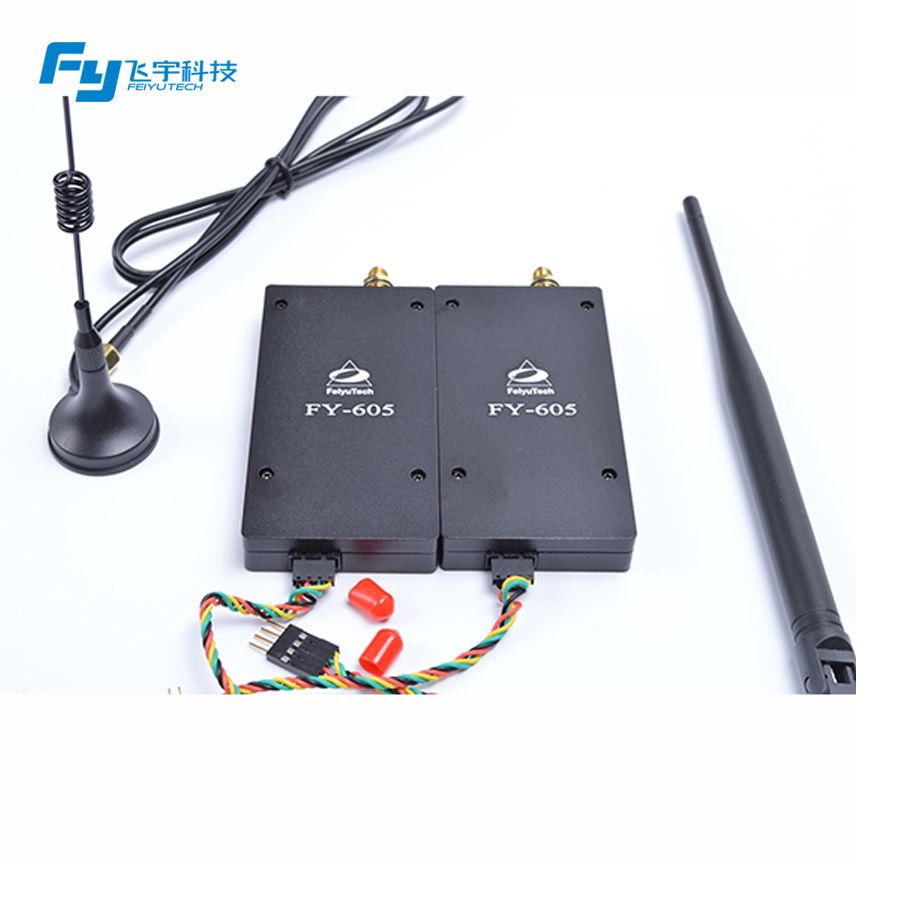 Feiyu FY 605 fern Radio FY 605 Data link übertragung 433/915 MHZ & GCS (bodenstation edition) 15 km kostenloser versand