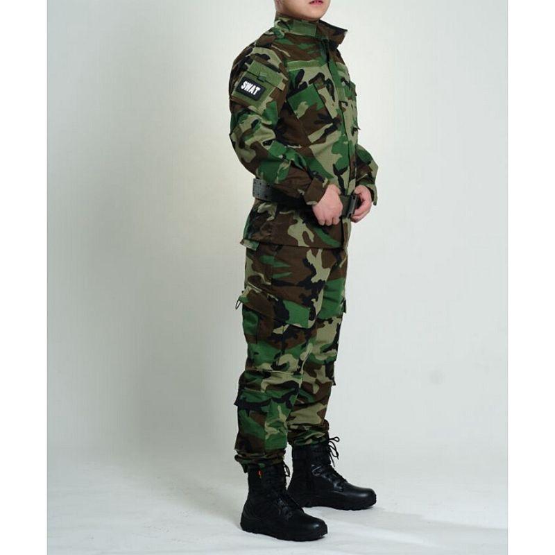Neue Army BDU Uniform Tarnung Taktische Shirts & Taktische hosen CS Feld Armee Camo Jagd Anzug USMC CP ACU ATACS