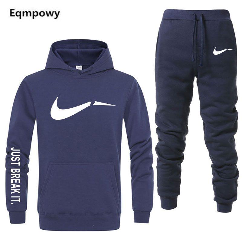 Eqmpowy nouveau Sport Costume à capuche Batman à capuche hommes décontracté coton automne/hiver chaud Sweatshirts hommes survêtement de Sport Costume