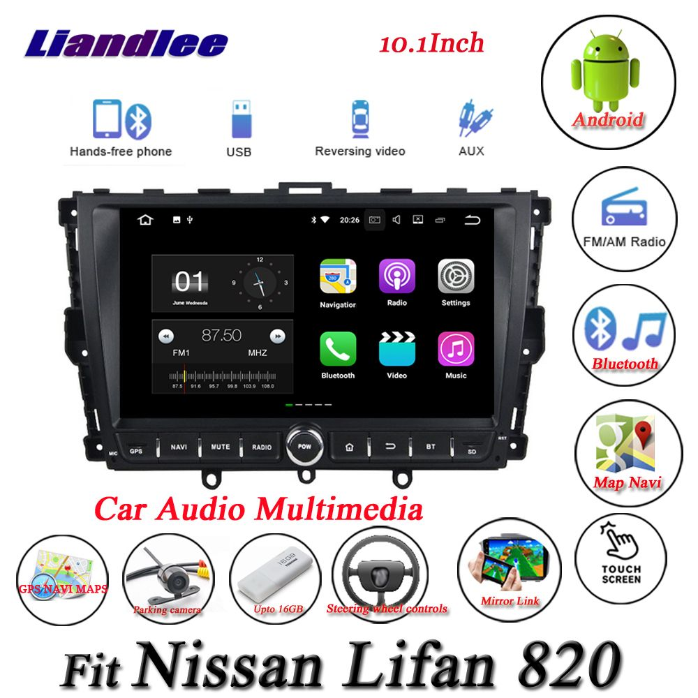 Liandlee Car Android System For Nissan Lifan 820 - Radio GPS Nav Navi MAP Navigation Wifi HD Screen Multimedia NO CD DVD Player