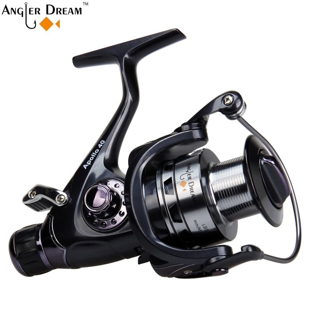 Carp Fishing Reel Double Brake Carp Fishing Feeder 10BB Spinning Reel 5.2:1 Quality Fishing Reel 3000 4000 5000 6000
