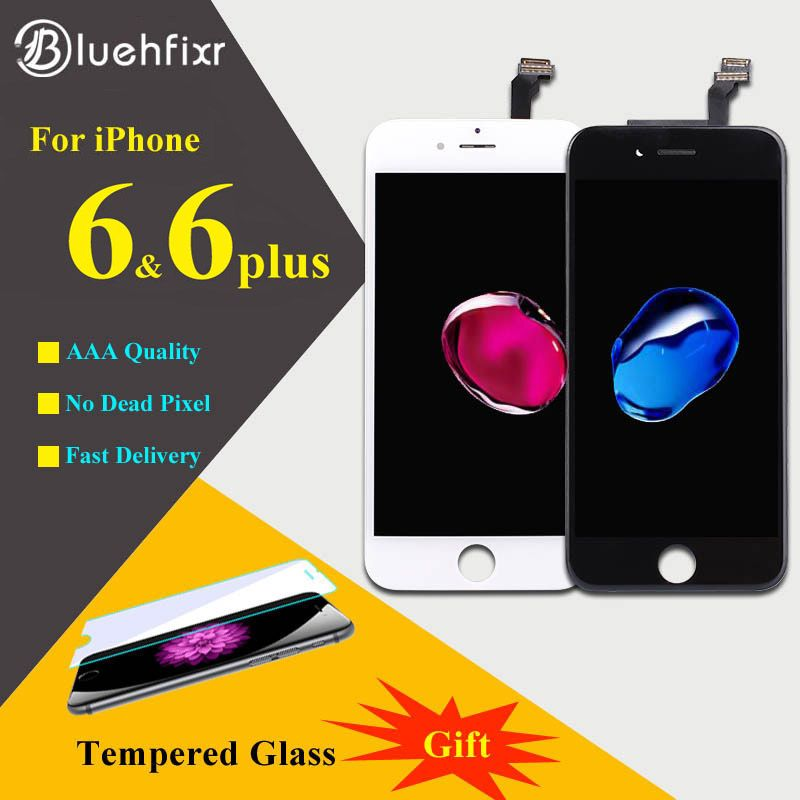 AAAAA For iPhone 6 6Plus LCD Display Touch Screen Digitizer Assembly Phone Replacement Parts LCD For iPhone 6 Plus Screen