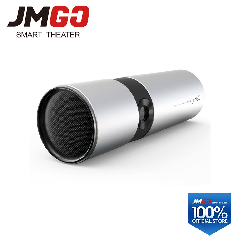 JMGO P2 View Smart Projector 250 ANSI Lumens, Built-in 15600mAh Lithium Battery Android HD Projector, WIFI, Bluetooth Speaker