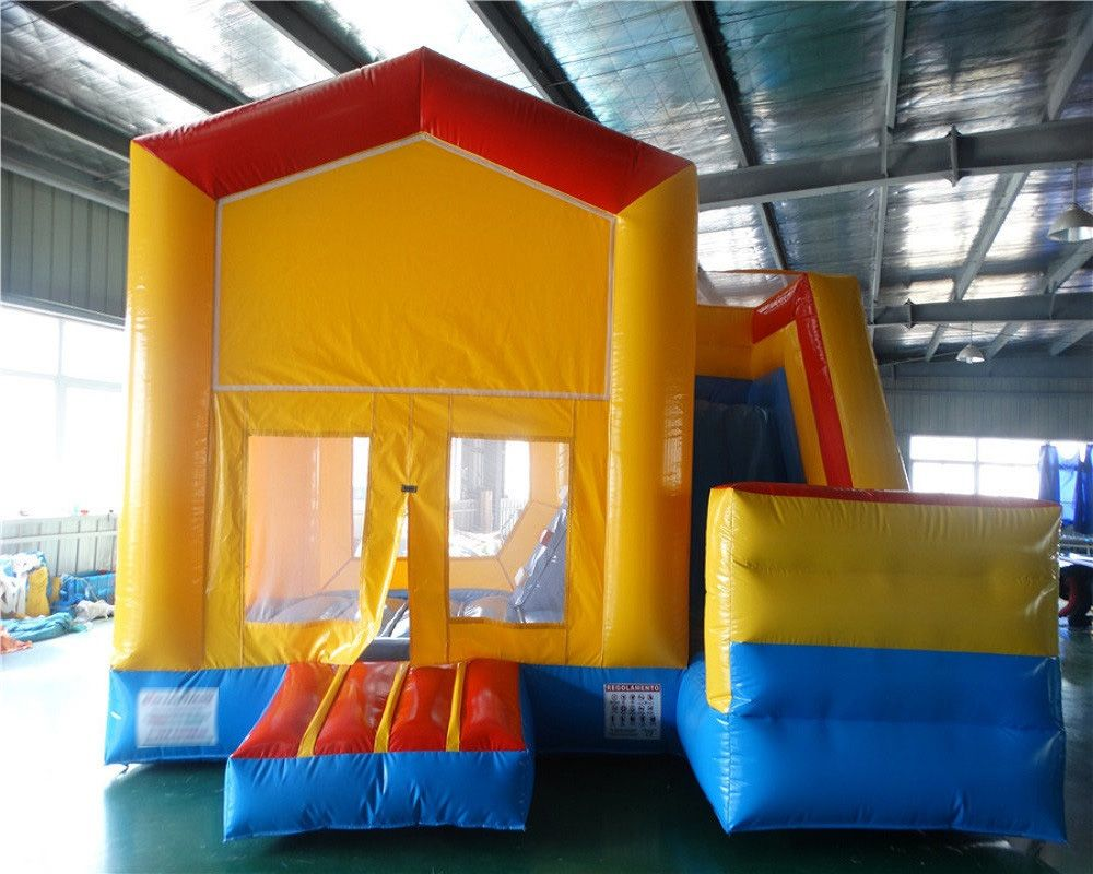 Angepasst spielplatz ausrüstung bounce haus, indoor/outdoor aufblasbare prahler