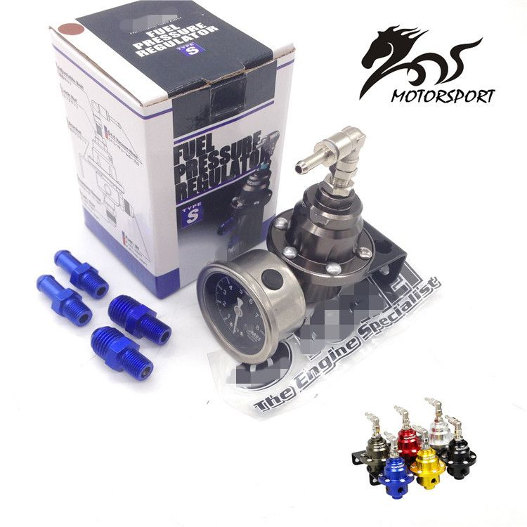 Universal Adjustable Fuel Pressure Regulator tomei type With original gauge and instructions