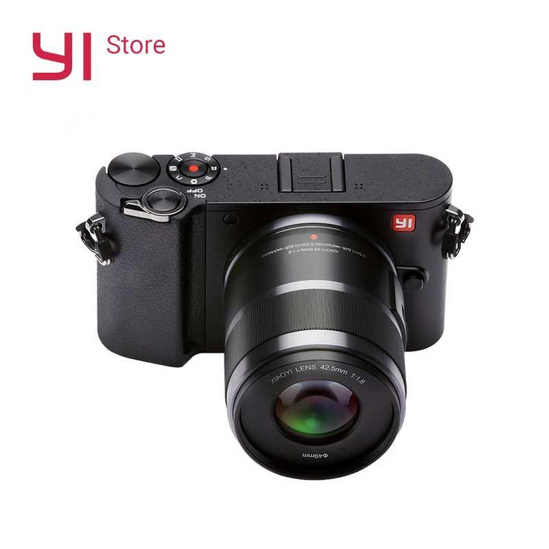 YI M1 Mirrorless Digital Camera 720RGB H264 With YI 12-40mm F3.5-5.6 Zoom Lens LCD RAW 20MP Video Recorder International Version