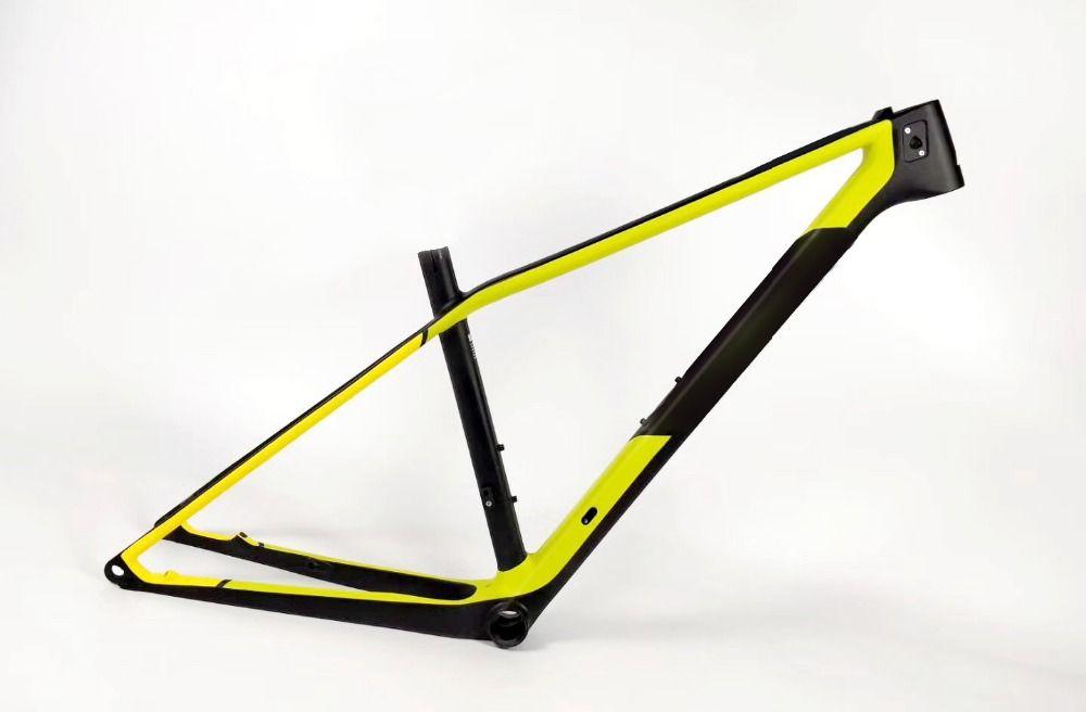 Neue ankunft 29er steckachse Berg carbon Mtb rahmen Marco de carbono Cadre de carbone velo bicicletta 30,8mm sitz