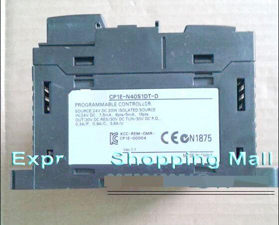 New CP1E-N40S1DT-D 40 POINT PLC GOOD QUALITY