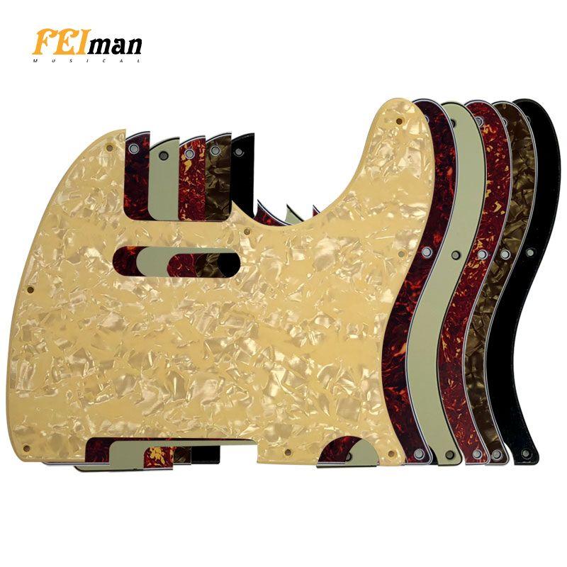 Accessoires de guitare Pleroo pickguard pour American Standard 8 trous de vis 62 ans Tele Telecaster guitare plaque à gratter
