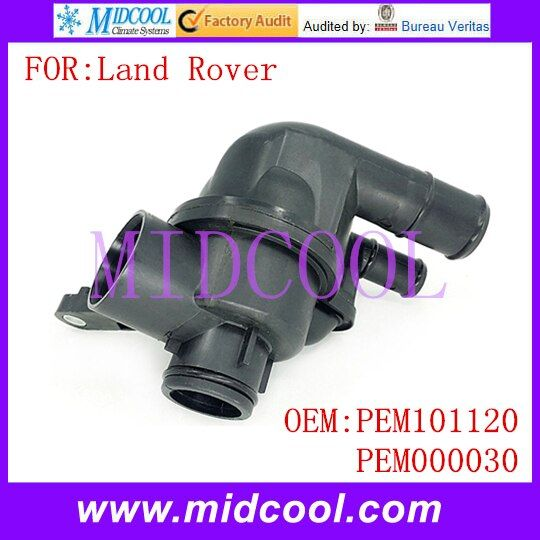 New Auto Coolant Thermostat Housing use OE NO. PEM101120 , PEM000030 for Land Rover