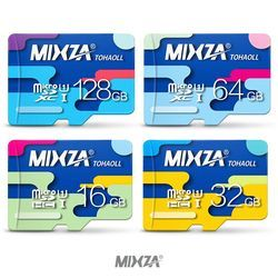MIXZA Memory Card 64GB 32GB Micro sd card Class10 UHS-1 flash card Memory Microsd TF/SD Cards for Smartphone/Tablet