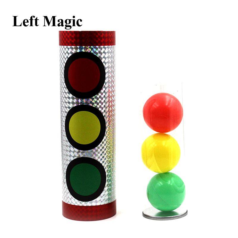 Boules miracles tours de magie feux de signalisation changement de couleur stade accessoires magiques Illusion Gimmick mentalisme jouets classiques
