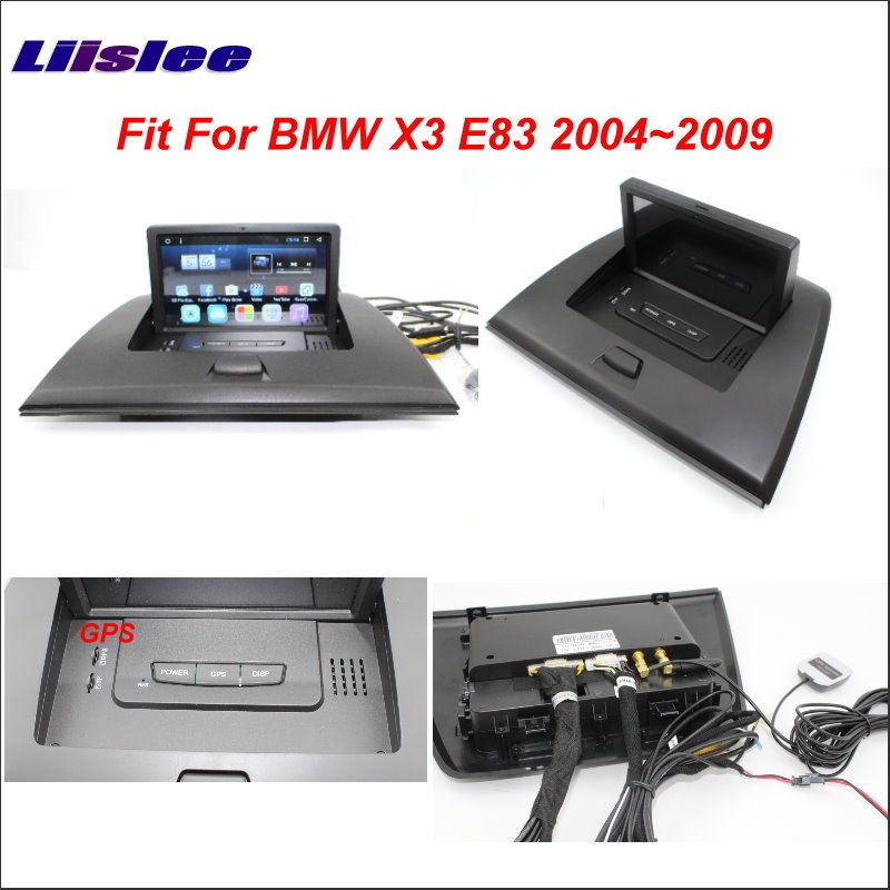 Liislee Car Android GPS NAV Map Navigation System For BMW X3 E83 2004~2009 Radio Stereo Audio Video Multimedia ( No DVD Player )