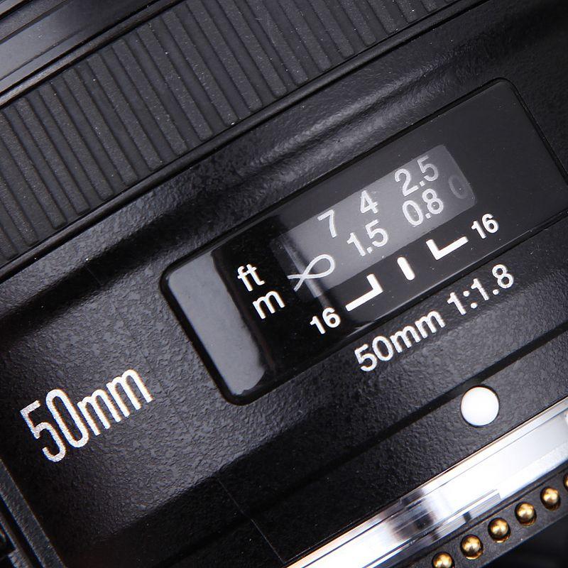 YONGNUO 50mm F1.8 Standard Prime Camera Lens YN50mm Auto Focus Large Aperture for Nikon D3300 DSLR for Canon EOS 60D 70D 5D2 5D3