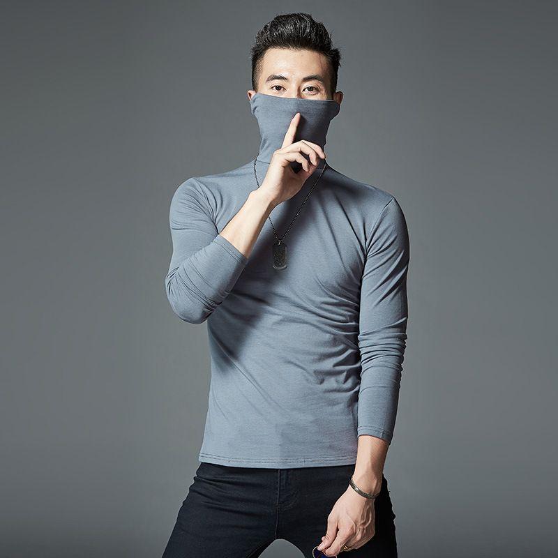 2018 la date de haute qualité À Manches Longues T-Shirts Hommes cofortable Coton M1701-M1717