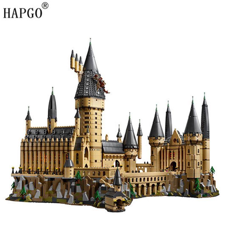 6742pcs Harry Potter Collectible Hogwarts Castle Compatible Legoingly Harry Potter 71043 Buliding Blocks Toys For Children Gifts