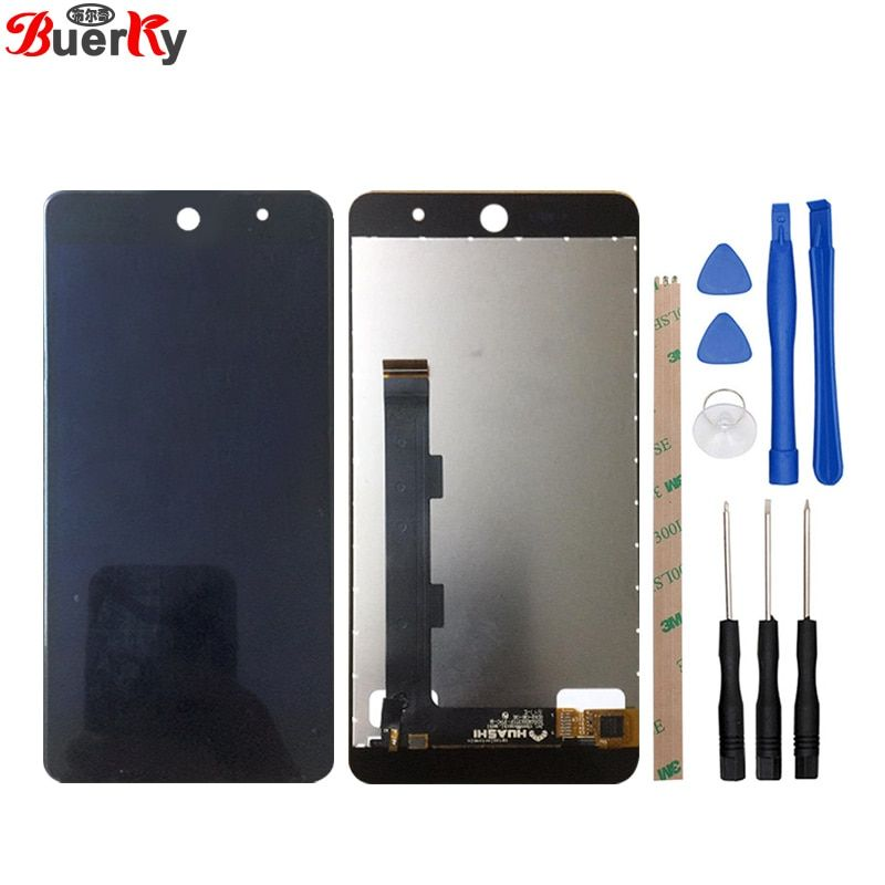 BKparts 1pcs 5.0 inch For Wileyfox swift 2 swift2 Plus LCD Display Touch Screen +Tools Kit Glass Digitizer Assembly Accessories