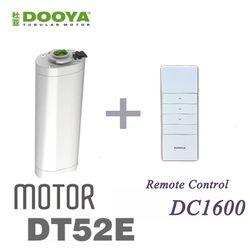 2016 Vente Chaude D'origine Dooya 45 W Électrique Rideau Moteur DT52E Avec Télécommande Pour La Maison Intelligente